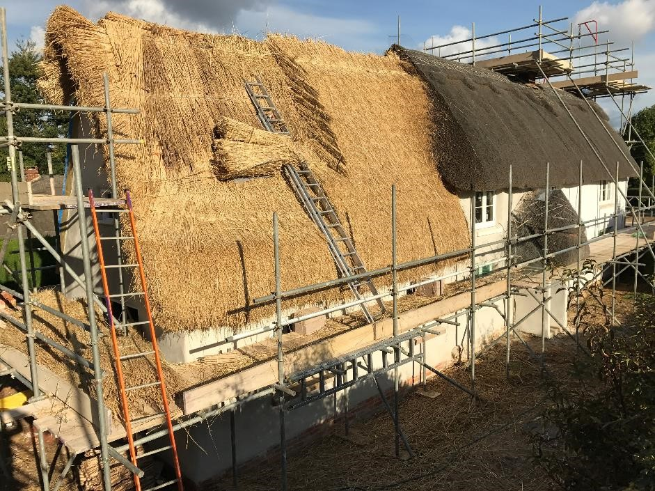 Thatched Extension to Cob House